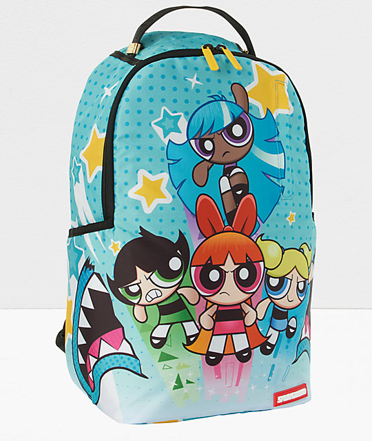 Sprayground x Powerpuff Girls Don't Cry Backpack