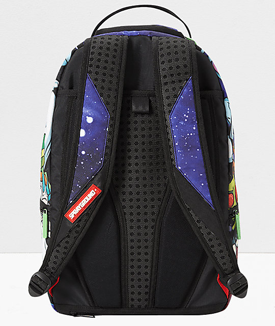 Sprayground x Rick and Morty Crammed Backpack