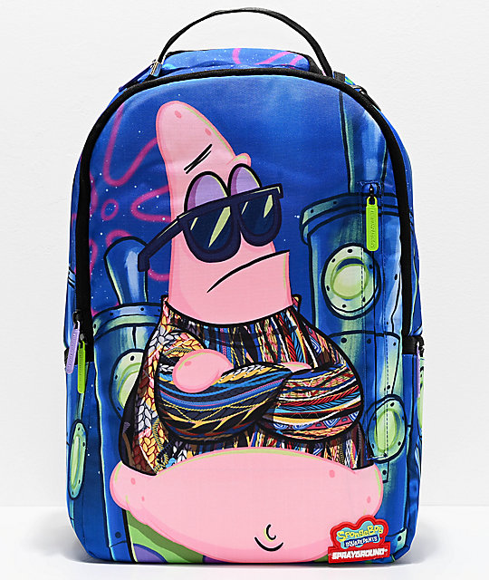 Sprayground x Spongebob Squarepants Notorious P.A.T. Backpack