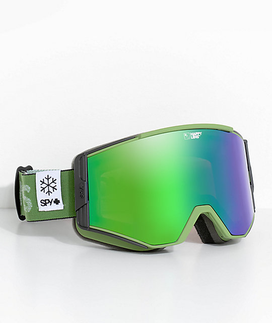 Spy Ace POW Green Specta Snowboard Goggles