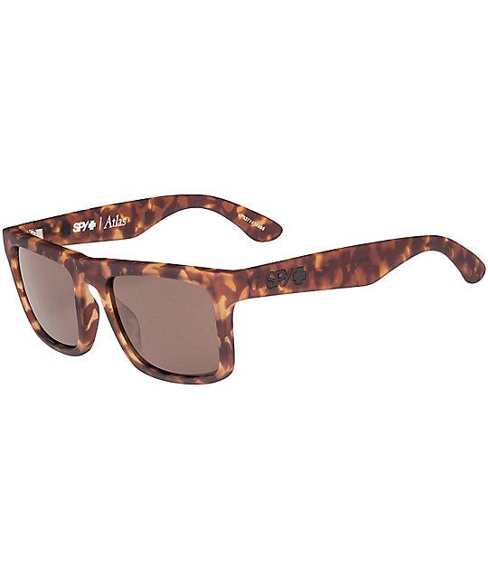 c03acfebd6d24 Spy Atlas Soft Matte Camo Tortoise Happy Lens Sunglasses