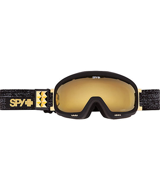 Spy Bias Occult Bronze & Gold Stud Womens Snowboard Goggles