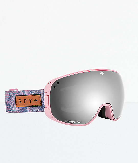 Spy Bravo Native Nature Pink Snowboard Goggles
