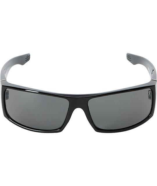 1201cf18a9d20 ... Spy Cooper XL Gloss Black   Grey Polarized Sunglasses