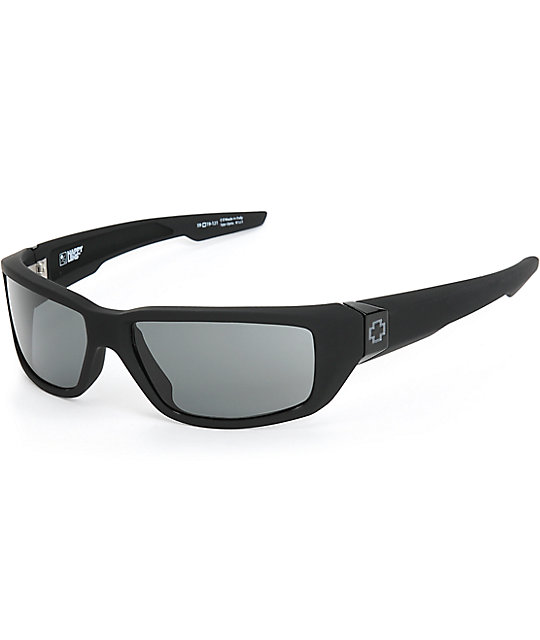 Spy Dirty Mo Happy Lens gafas de sol en negro mate | Zumiez