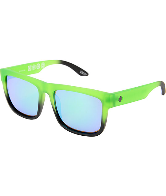 Spy Discord Rolling Hills Green Fade & Black Sunglassess