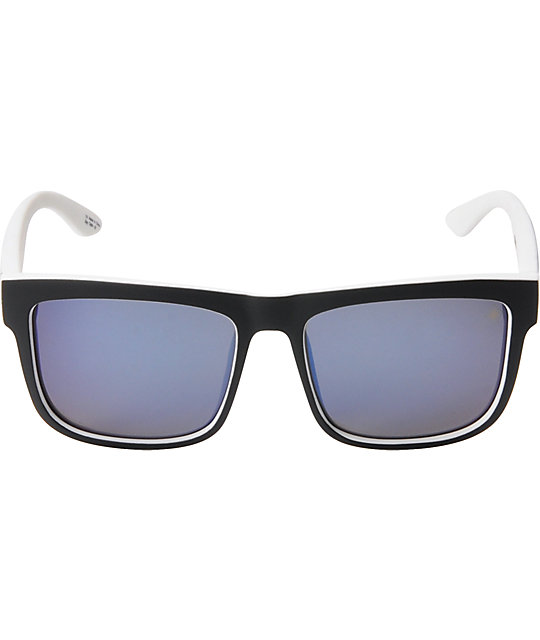 Spy Discord Whitewall, Black & Blue Spectra Sunglasses