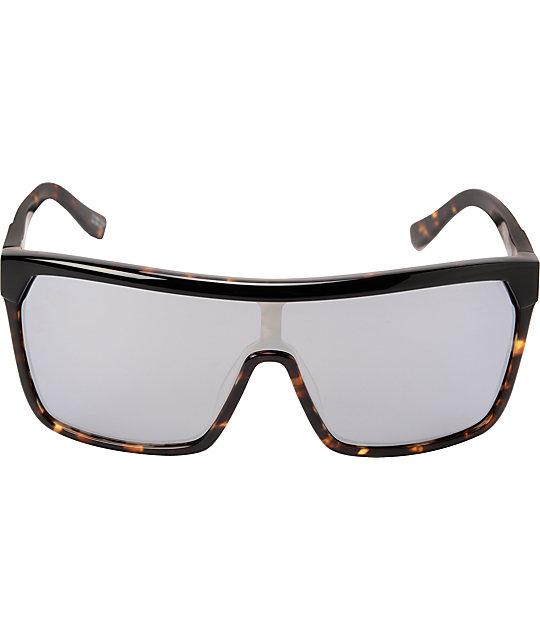 2a3d0d6ac5 ... Spy Flynn Tortoise Grey   White Sunglasses