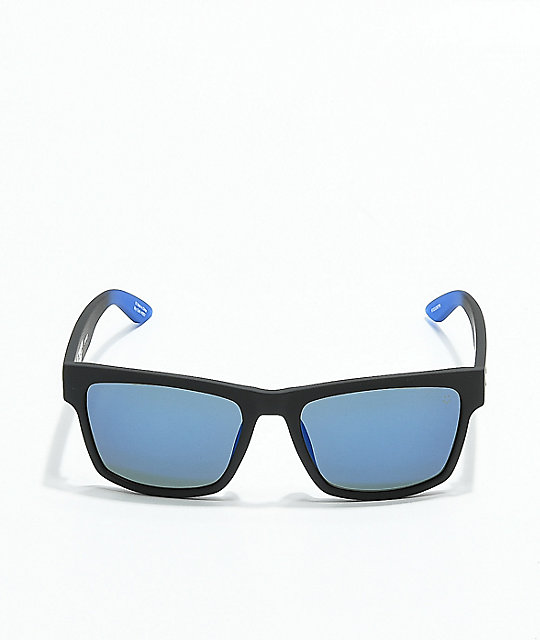 Spy Haight 2 Soft Matte Black & Blue Sunglasses