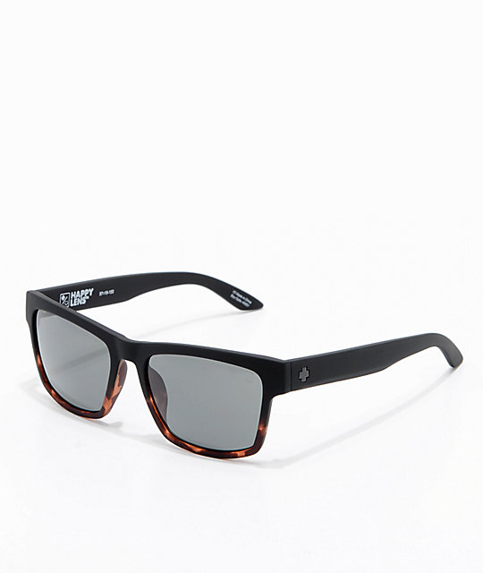Spy Haight 2 Soft Matte Black Tortoise Sunglasses
