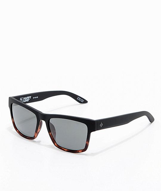 47f00c0a64 Spy Haight 2 Soft Matte Black Tortoise Sunglasses