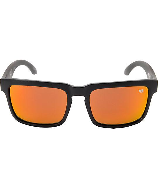 29895daa0 Spy Helm Ken Block Concrete Grey & Red Spectra Sunglassess | Zumiez