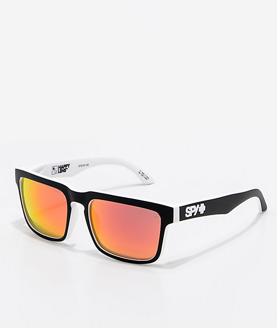 676c55712e Spy Helm Whitewall Red Spectra Sunglasses