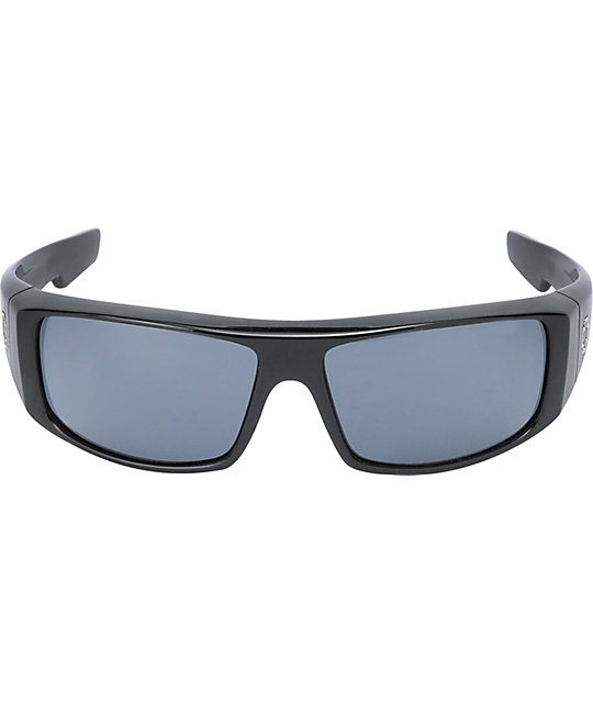 Spy Logan Black & Grey Sunglasses