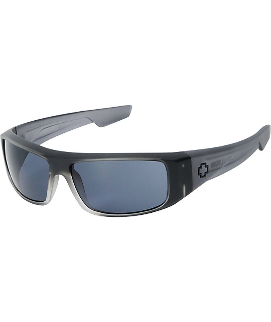Spy Logan Black Ice Matte Sunglasses