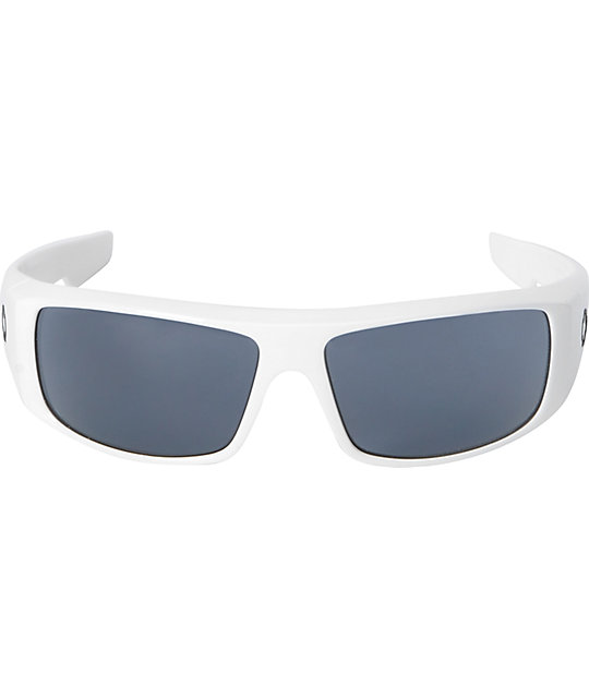 Spy Logan White & Grey Sunglasses