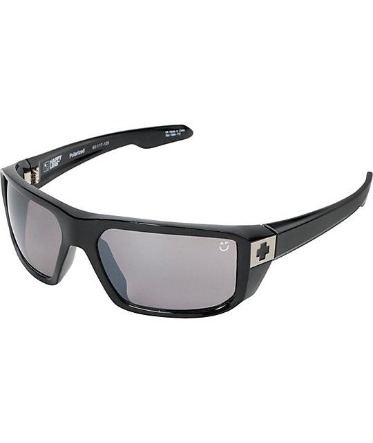 b943ac6461 Spy McCoy Gloss Black Happy Lens Polarized Sunglasses