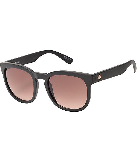 ffcbf8eb130 Spy Quinn Femme Fatale Matte Black Sunglasses