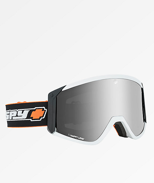 Spy Raider Old School gafas de snowboard en blanco