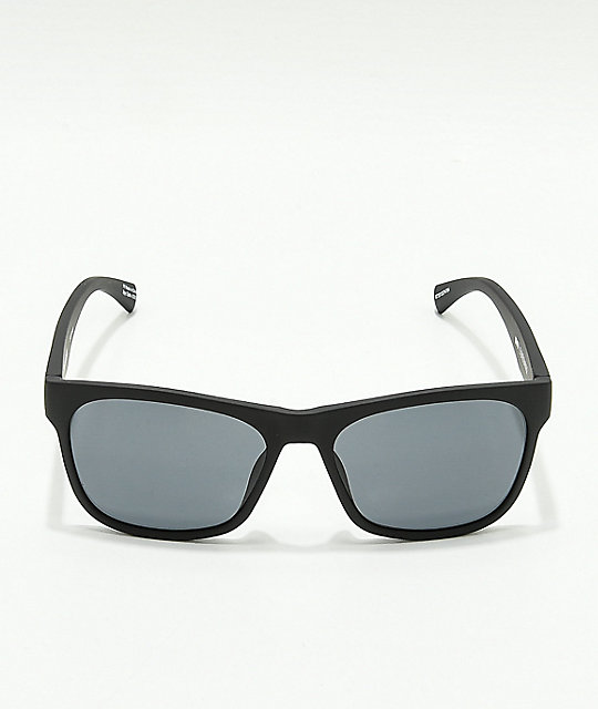 Spy Sundowner Matte Black & Grey Sunglasses