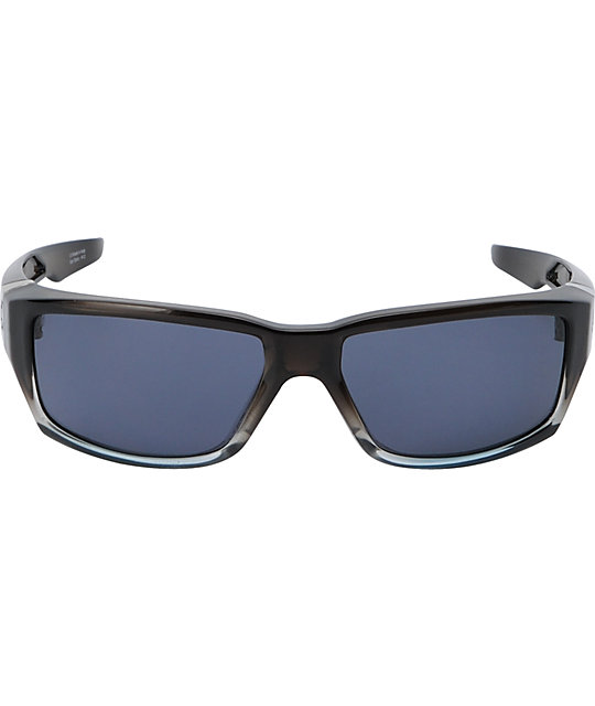 Spy Sunglasses Dirty Mo Crystal Grey Fade Sunglasses