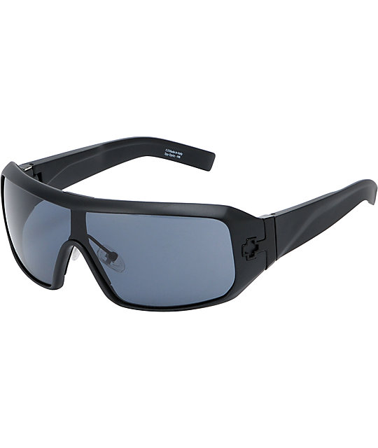 Spy Sunglasses Haymaker Matte Black & Grey Sunglasses