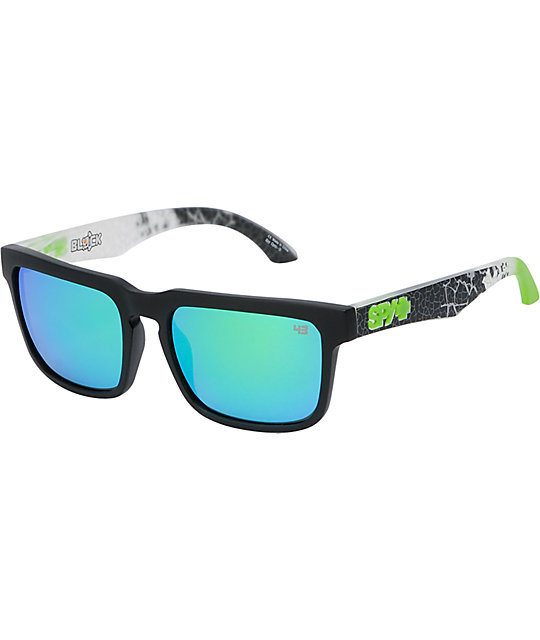 Spy Sunglasses Helm Ken Block Livery Black Sunglasses