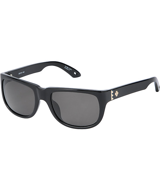 Spy Sunglasses Kubrik Black & Grey Sunglasses