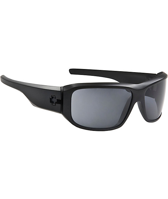 Spy Sunglasses Lacrosse Matte Black Sunglasses