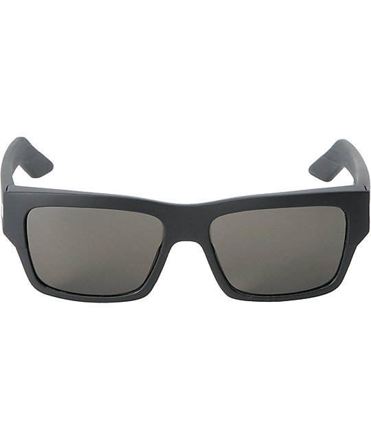 Spy Sunglasses Tice Matte Black & Grey Sunglasses