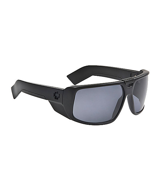 Spy Sunglasses Touring Matte Black Sunglasses