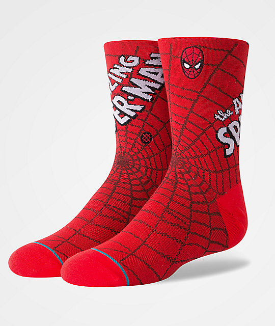 Stance Amazing Spiderman calcetines para niños