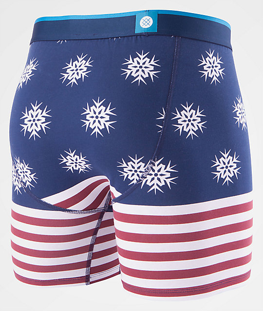 Stance Flake Flag Wholester Boxer Briefs