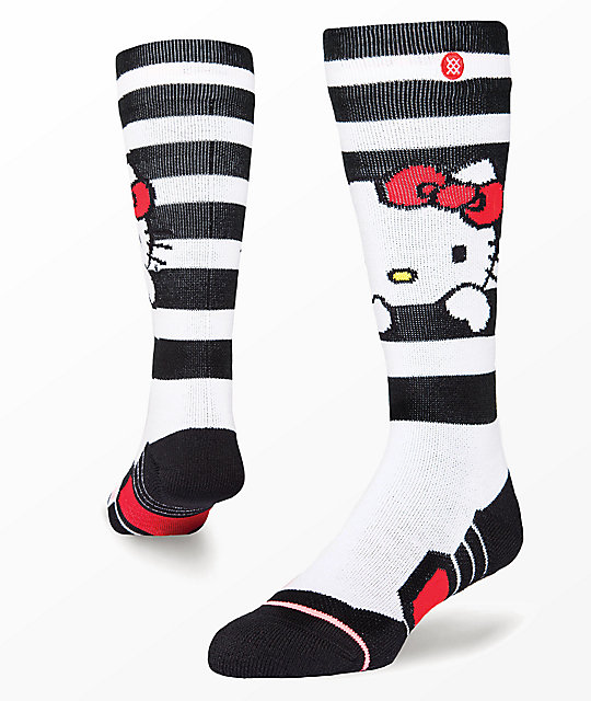Stance Hello Kitty White Snowboard Socks
