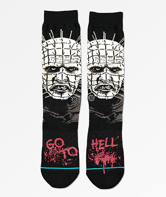 Stance Hellraiser Black Crew Socks