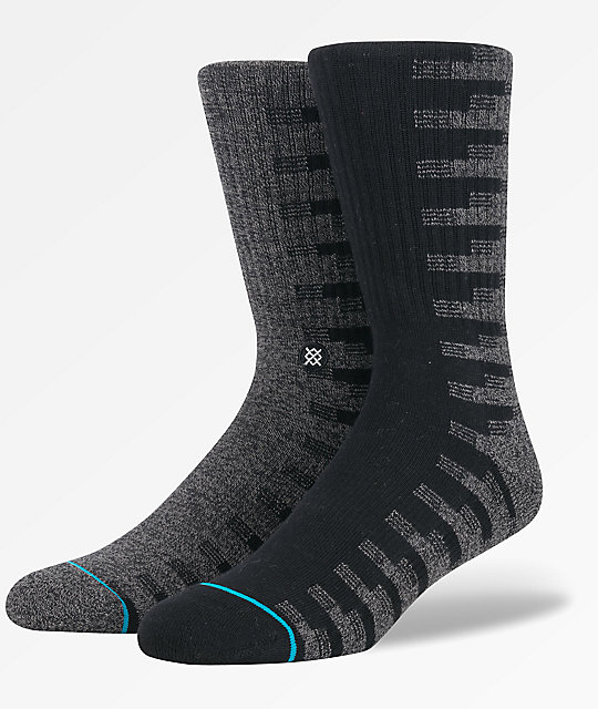 Stance Oak Black Crew Socks
