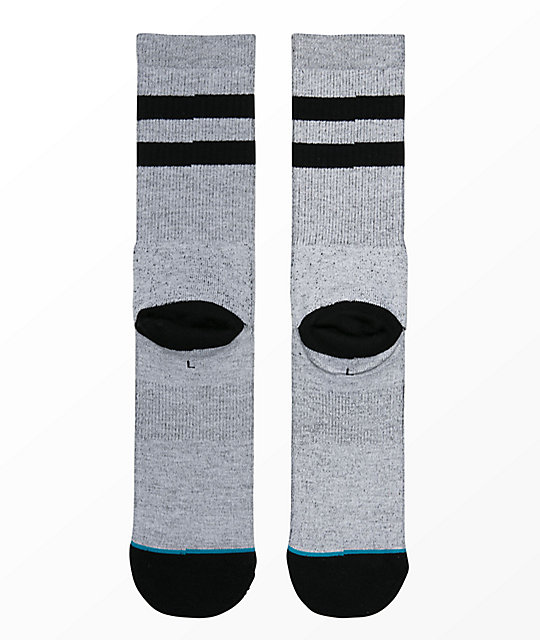 Stance Oblow Snake Grey Crew Socks