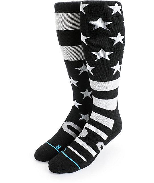 5ea078c9 Stance Stars And Bars Merino Wool Snowboard Socks