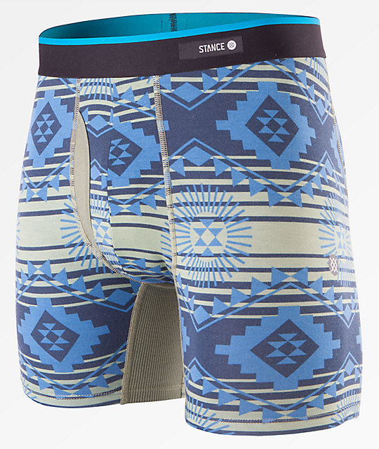 Stance Sun Burst Green Boxer Brief
