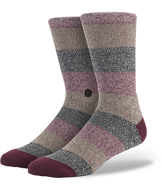 Stance The Boss Heathered Crew Socks