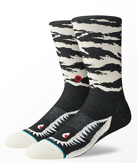 imágenes detalladas muy elogiado colores delicados Stance Warhawk Natural calcetines