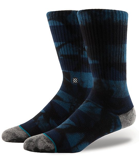Stance Wells Blue Crew Socks