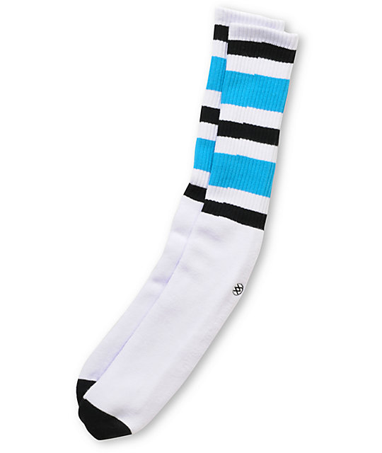 Stance White Pipe Bombs Crew Socks