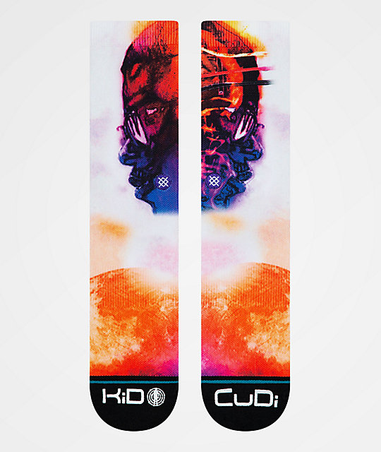 Stance x Kid Cudi Man On The Moon calcetines