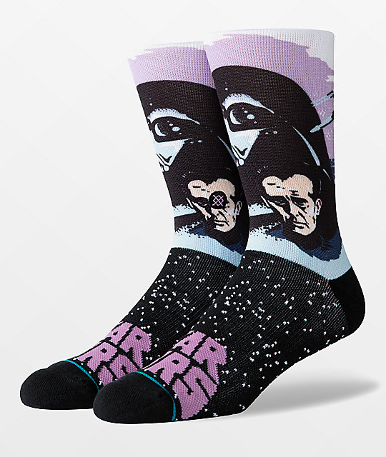Stance x Star Wars Darth Vader Black & Purple Crew Socks