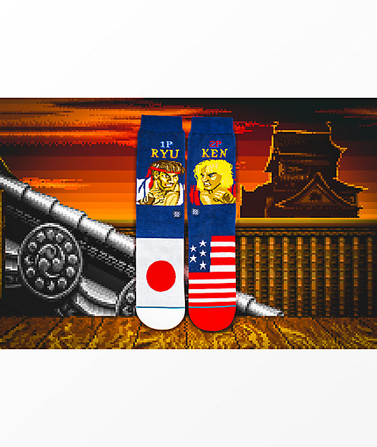 Stance x Street Fighter Ryu Vs. Ken calcetines