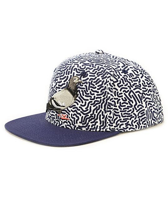 Staple Pigeon Scribble Snapback Hat  61e61cccf07