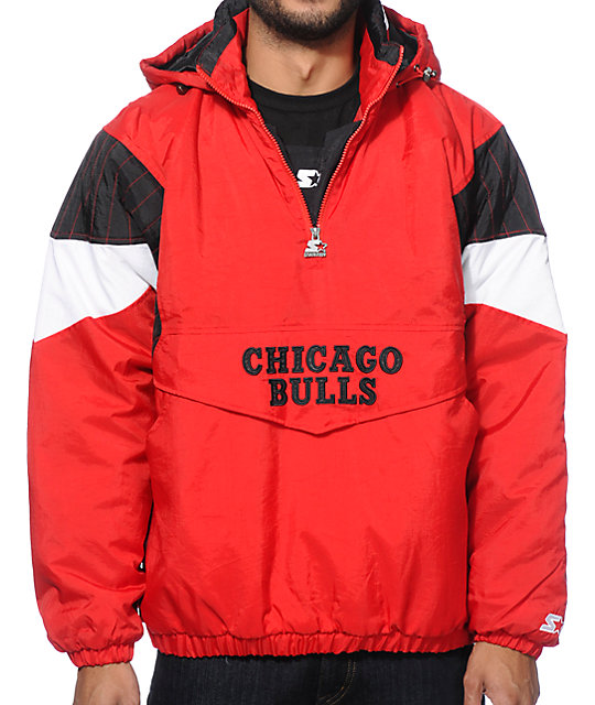 Starter Chicago Bulls Pullover Jacket  3c5ed0355
