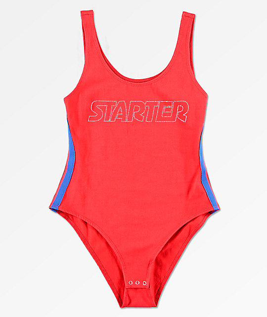 Starter Red Bodysuit