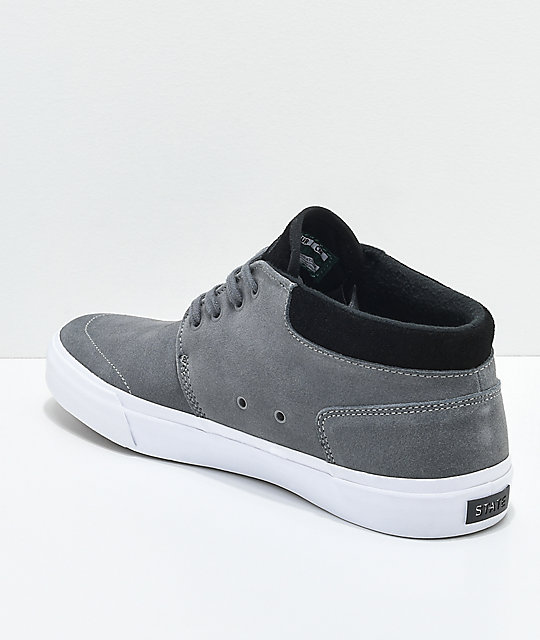 State Albany Pewter zapatos de skate en gris y negro